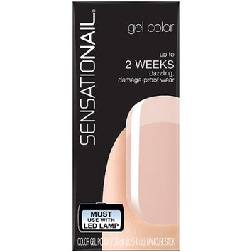 Pacific World Corporation SensatioNail Gel Color Nail Polish, So Rosy, 0.25 fl oz