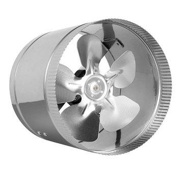 Hydro Crunch 420 CFM 8 in. Inline Duct Booster Fan for Indoor Garden Ventilation