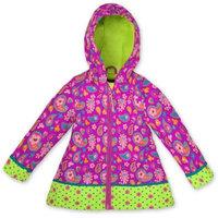 Stephen Joseph Kids Rain Coat 6X - Paisley - Stephen Joseph Women's Apparel