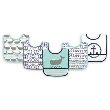 Hudson Baby Whale Bib - Set of Five