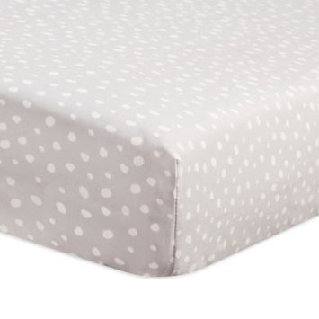 Tuxedo Dots Fitted Crib Sheet by Babyletto