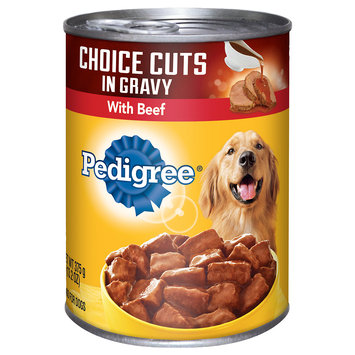 Pedigree® Choice Cuts in Gravy With Beef Canned Dog Food