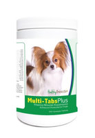 Healthy Breeds 840235123347 Papillon Multi-Tabs Plus Chewable Tablets - 365 Count