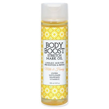 basq 8 oz. Body Boost Stretch Mark Oil in Milk and Honey