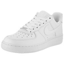 NIKE Women's Air Force 1 Low Basketball Shoe, White - 7.5