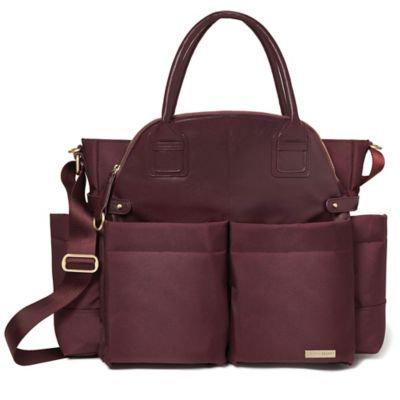 Infant Skip Hop 'Chelsea' Diaper Bag - Red