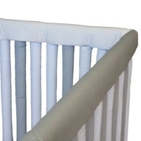 Go Mama Go Designs® 52-Inch x 6-Inch Teething Guard in Grey & White