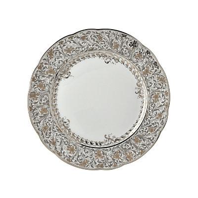Bernardaud Eden Platinum Dinner Plate