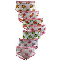 Girls 4-10 Shopkins 7-pk. Brief Underwear, Girl's, Size: 6, Multi/None