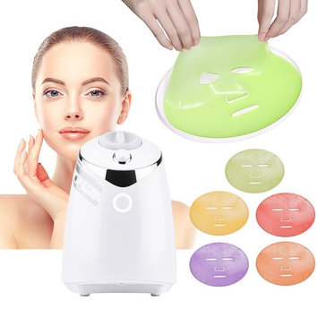 MS.DEAR Facial Mask Maker Machine, Collagen Fruit Vegetable DIY Automatic Face Mask Making, with 32 Counts Collagen Pills