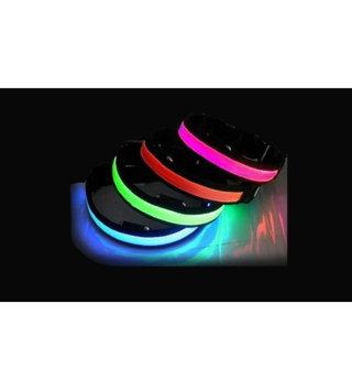 Medex New Cute Adjustable Glowing LED Dog Collar