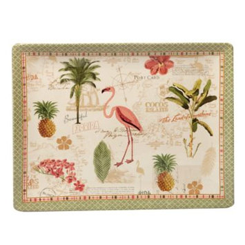 Certified International Floridian by Katie Pertiet Rectangle Ceramic Serving Platter 16