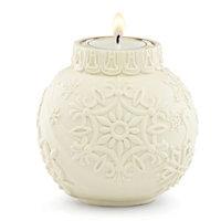 Lenox Ornamental Glow Snowflake Scroll Votive