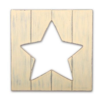 Babies R Us The Peanut Shell - Wall Decor - Yellow Star Cut Out
