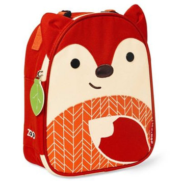 Skip Hop Zoo Lunchie Insulated Lunch Bag, Red