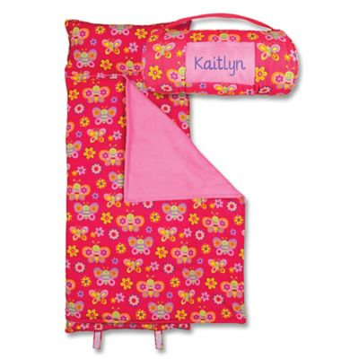 Stephen Joseph® Butterfly Print Nap Mat in Pink