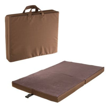 Petmaker Medium Chocolate Polyester Travel Folding Pet Bed
