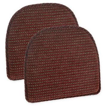 The Gripper Gripper Staten Essentials Chair Pad, Red