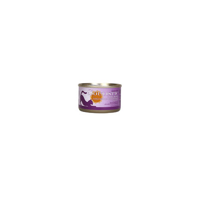 Soulistic Pure Bliss Tuna Whole Meat Dinner Adult Canned Cat Food in Gravy, 3 oz, Case of 12
