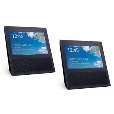 Amazon Echo Show 2-Pack in Black/Black