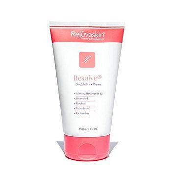 Rejuvaskin Resolve Stretch Mark Cream – Helps Improve and Prevent Stretch Marks – Cocoa Butter, Aloe, Shea - 3Fl Oz/90mL