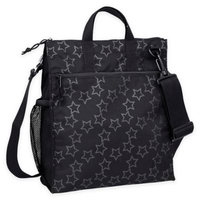 Lassig Casual Star Buggy Bag in Reflective Star Black