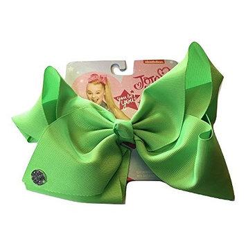 JoJo Siwa Neon Green Signature Hair Barrette Bow, Large Bow