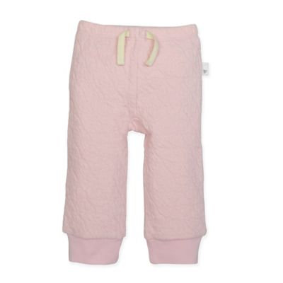 Burt's Bees Baby® Size 3M Organic Cotton Quilted Pant in Pink