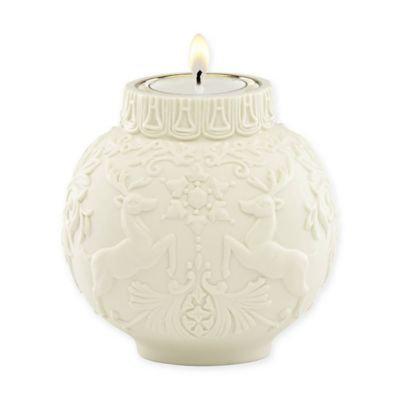 Lenox Ornamental Glow Winter Damask Votive Holder