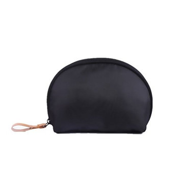 Cosmetic Bag Handbag Makeup Accessories Portable Brushes Small Travel Waterproof Cases Electronics Organizer for Women (Black)