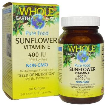 Natural Factors Whole Earth & Sea® Sunflower Vitamin E -- 400 IU - 90 Softgels