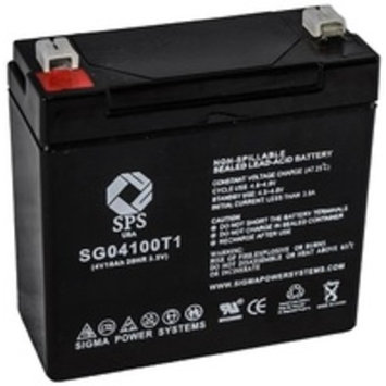 SPS Brand 4V 10 Ah Replacement battery for Dyna Ray B4V10