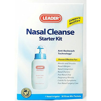 Leader Nasal Cleanse Starter Kit 1 Count per Box (7 Kits)