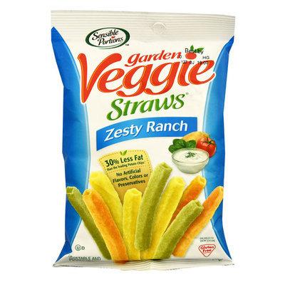 Sensible Portions Garden Veggie Straws® Zesty Ranch -- 1 oz