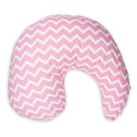 Dr Brown's Pink Gia Chevron Nursing Pillow Cover