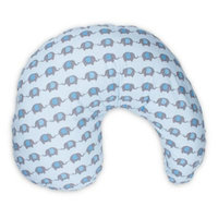 Dr Brown's Blue Gia Elephant Nursing Pillow Cover