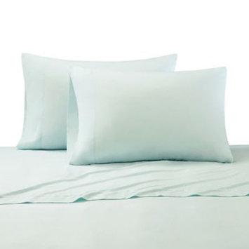 Cr me De La Cr me Milk 300-Thead-Count Cotton Standard Pillowcases in Teal