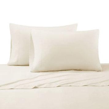 Cr me De La Cr me Milk 300-Thead-Count Cotton California King Sheet Set in Ivory