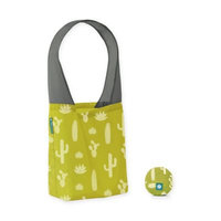 Flip & Tumble Flip Bag 24-7 Mojave-Print Reusable Shopping Bag in Green/White
