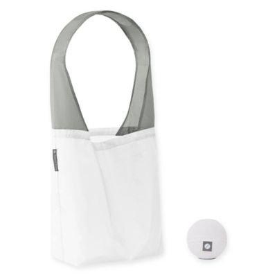 Flip & Tumble Flip Bag 24-7 Solid Reusable Shopping Bag in White