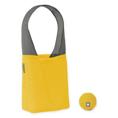 Flip & Tumble Flip Bag 24-7 Solid Reusable Shopping Bag in Yellow