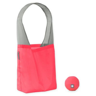 Flip & Tumble Flip Bag 24-7 Solid Reusable Shopping Bag in Coral