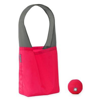 Flip & Tumble Flip Bag 24-7 Solid Reusable Shopping Bag in Magenta