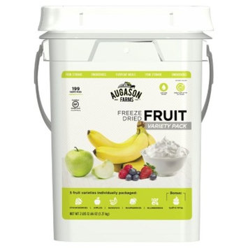Augason Farms Freeze Dried Fruit Variety Pack Kit - 44oz Pail