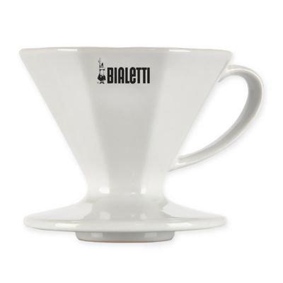 Bialetti® 2-Cup Coffee Dripper in White