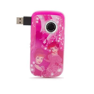 Sakar Princess Digital Camcorder LCD - Pink - Microphone - Secure Digital (SD) Card - Memory Card