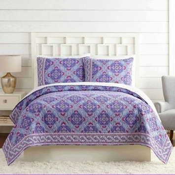 Vera Bradley Purple Passion Quilt King in Lilac Tapestry