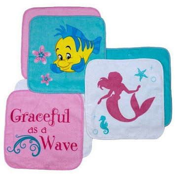 Desigual Disney Little Mermaid Ariel 6-Pack Washcloth Set