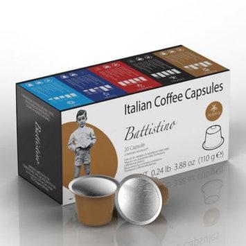 Battistino 100-Count Arabica Italian Coffee Capsules for Single Serve Coffee Makers