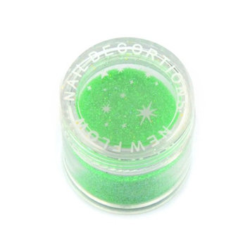 Elite99 Shining Colors Acrylic Powder Builder Nail Art Set Glitter Powder Dust Tips DIY Decoration Tools Cyan [Cyan]